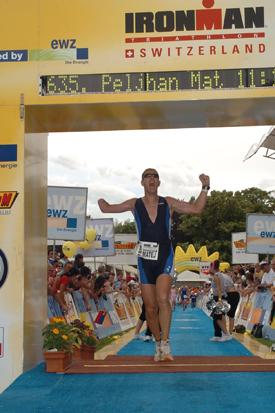 Ironman Zurich 2007 - Matej Peljhan